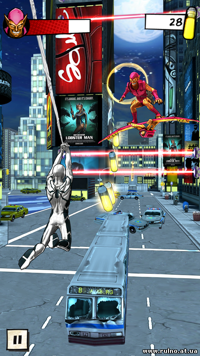 SpiderMan Unlimited для Android