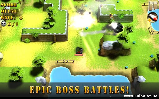 Tank Riders 3D for Android ( online )
